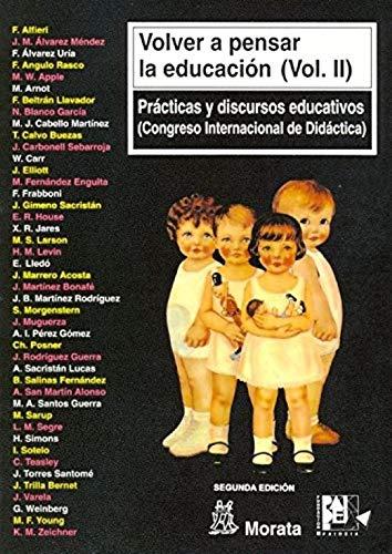 Volver a pensar la educación (vol II): ALFIERI, F./ALVAREZ MENDEZ,