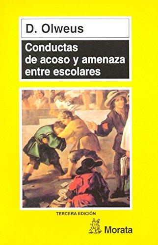 9788471124272: Conductas de Acoso y Amenaza Entre Escolares (Spanish Edition)