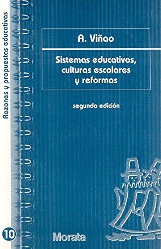 Sistemas Educativos, Culturas Escolares Y RE: A. VIAO