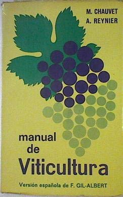 9788471140418: Manual de viticultura