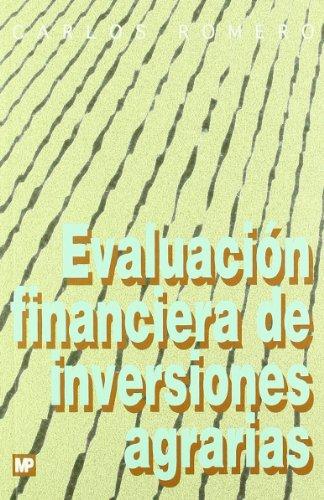 9788471147240: Evaluación financiera de inversiones agrarias