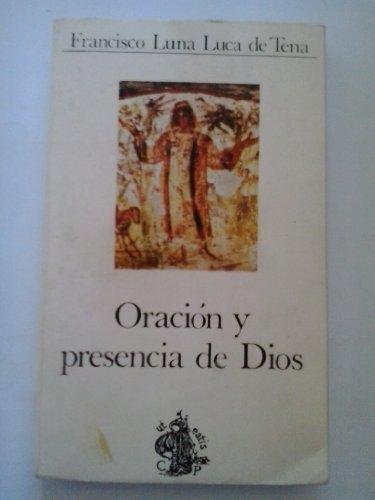 9788471181022: Oración y presencia de Dios (Cuadernos Palabra)
