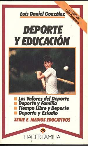 9788471188793: Deporte y educación