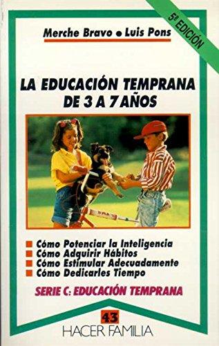 La educación temprana de 3 a 7 años: Merche Bravo- Luis Pons