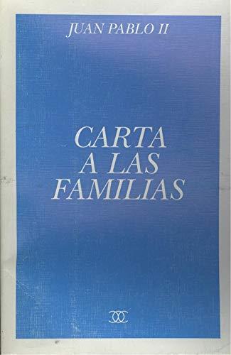 9788471189622: Carta a las familias