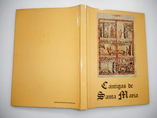 9788471200785: Cantigas de Santa Maria de Alfonso X el Sabio, Rey de Castilla (Coleccion Selecta ; 7) (Spanish Edition)
