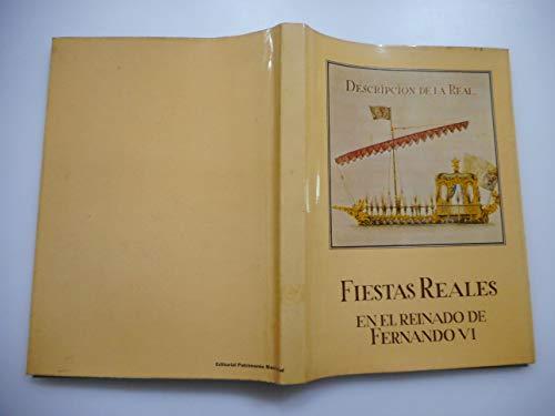 9788471201102: Fiestas reales en el reinado de Fernando VI
