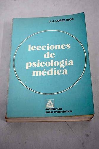 9788471211101: Lecciones de psicologia medica