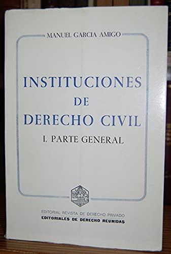 9788471302885: Instituciones de derecho civil (Serie Manuales) (Spanish Edition)