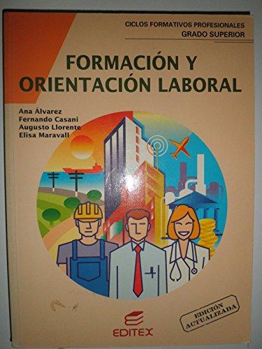 9788471313645: Cfgs Formacion Y Orientacion Laboral