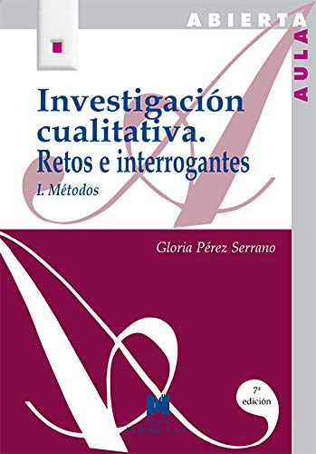 9788471336286: Investigación cualitativa I: retos e interrogantes, métodos