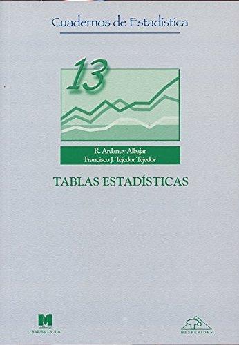 9788471337061: Tablas Estadisticas.
