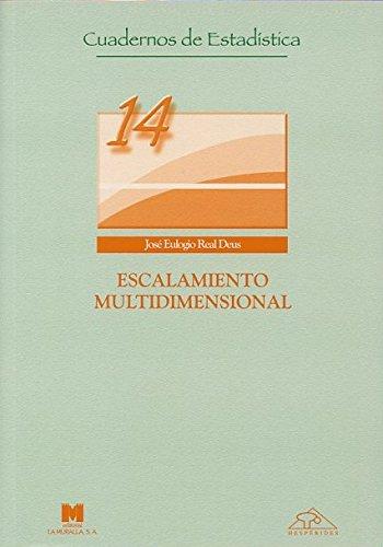9788471337078: Escalamiento Multidimensional.