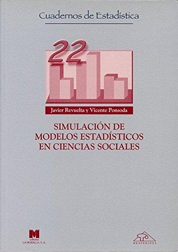 9788471337283: Simulacion de Modelos Estadisticos en Ciencias Sociales