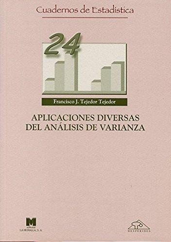 9788471337320: Aplicaciones diversas del análisis de varianza (Cuadernos de estadística)