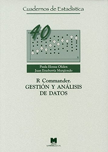 9788471338006: R Commander. Gestión y análisis de datos (Cuadernos de Estadística)