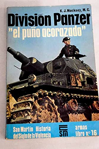9788471400833: División Panzer: