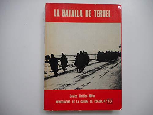 MONOGRAFIAS DE LA GUERRA DE ESPAÑA. Nº: SERVICIO HISTORICO MILITAR