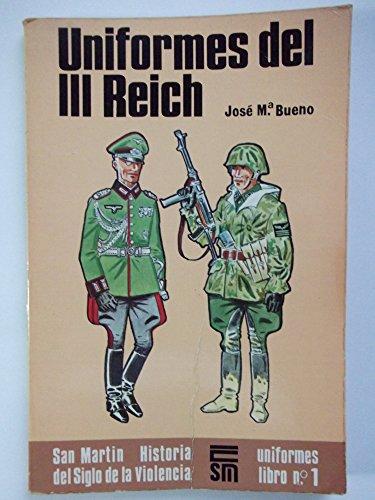 9788471401595: Uniformes del I I I reich