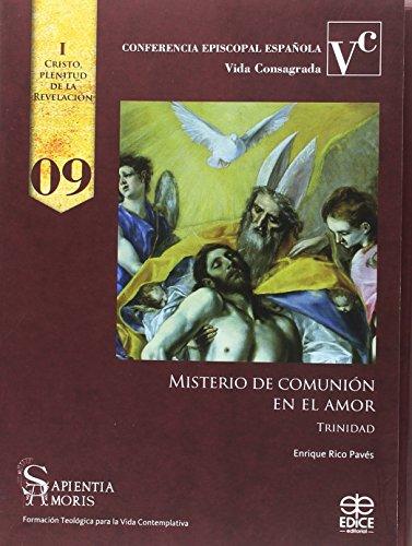 9788471418548: Misterio de comunión en el amor: Trinidad (Sapientia amoris)