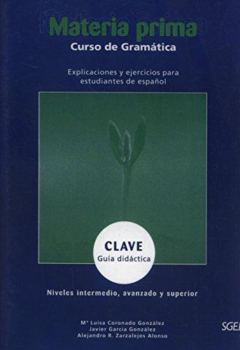 9788471435910: Materia prima clave: Guia Didactica Y Clave