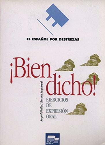 9788471438386: Bien Dicho! (Spanish Edition)