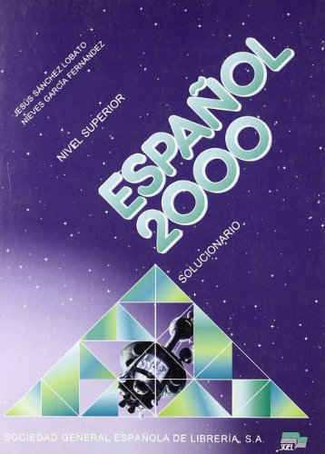 9788471438645: Espanol 2000: Solucionario 3 to Accompany Student's Book (Spanish Edition)