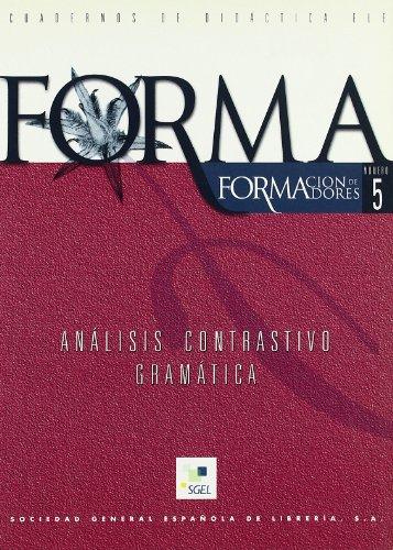 9788471439833: Forma 05 Analisis Contrastivo Gramatica (Spanish Edition)