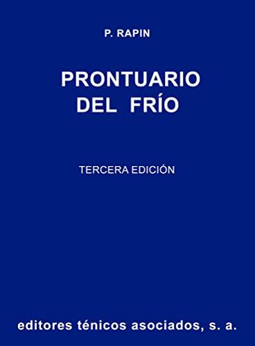 9788471460622: Prontuario Del Frío