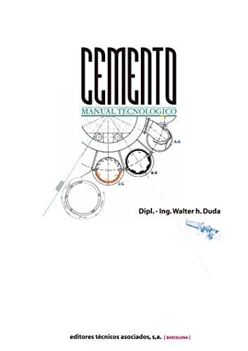9788471460950: Manual Tecnológico Del Cemento