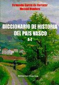 9788471481214: Dic.de historia del pais Vasco a-z (Illargi Amandrea)
