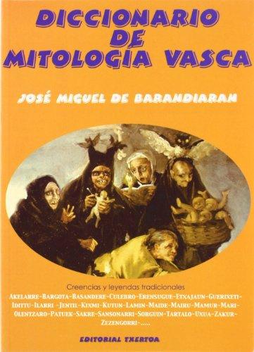 """9788471481665: Diccionario de mitología vasca (Colección """"Ipar haizea"""") (Spanish Edition)"""