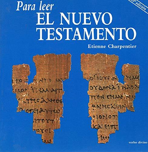 9788471513076: Para Leer El Nuevo Testamento