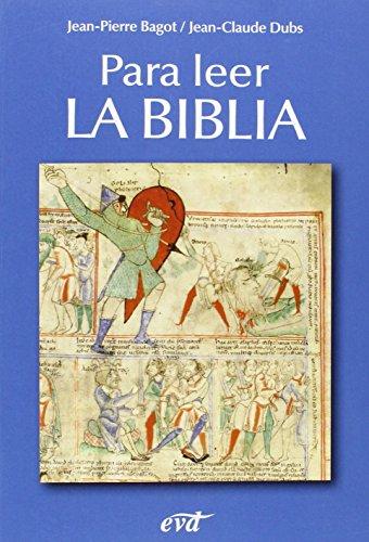 9788471515162: Para leer la Biblia (Materiales de trabajo)