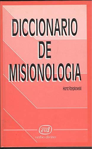 9788471517999: Diccionario de misionología