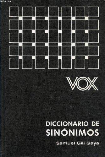 9788471531780: Diccionario de Sinonimos / Dictionary of Synonyms (Spanish Edition)