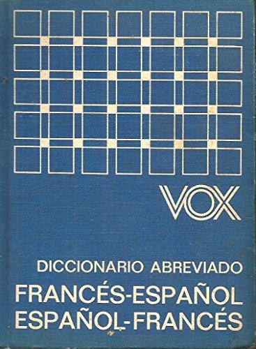 Diccionario abreviado frances-español, español-frances vox: Varios Autores