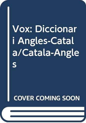 9788471533364: Vox: Diccionari Angles-Catala/Catala-Angles