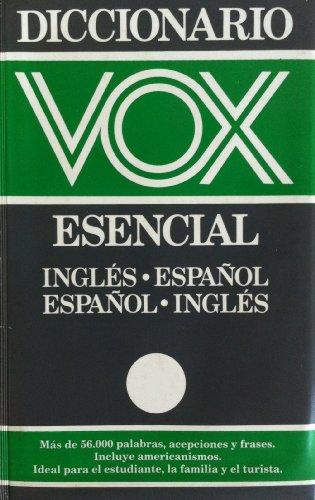 9788471533548: Diccionario vox-harrap's esencial ingles-español, español-ingles