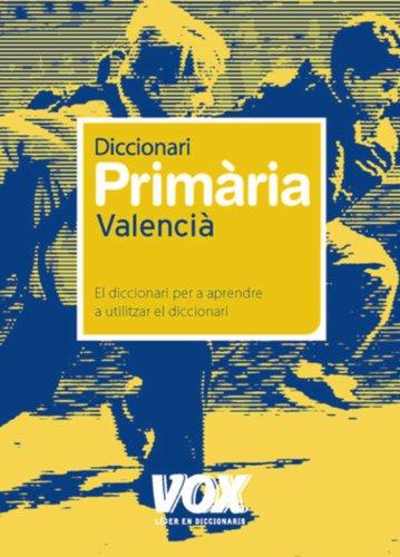 Dicc. Primària Valencià - autor