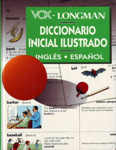 9788471537430: Vox Longman Diccionario Inicial Ilustrado Ingles-Espanol (Spanish, English and English Edition)