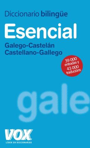9788471538215: Diccionario Esencial Galego-Castelán / Castellano-Gallego (Vox - Lengua Gallega - Diccionarios Generales)