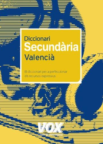 9788471538277: Diccionari secundaria Valencia / Dictionary for High School Students (Diccionarios Escolares) (Catalan Edition)