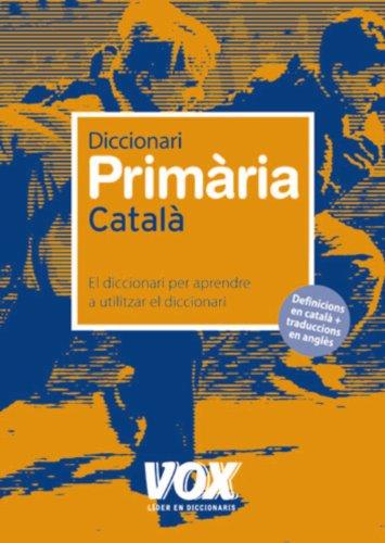 9788471538543: Diccionari de Primària (Vox - Lengua Catalana - Diccionarios Escolares)