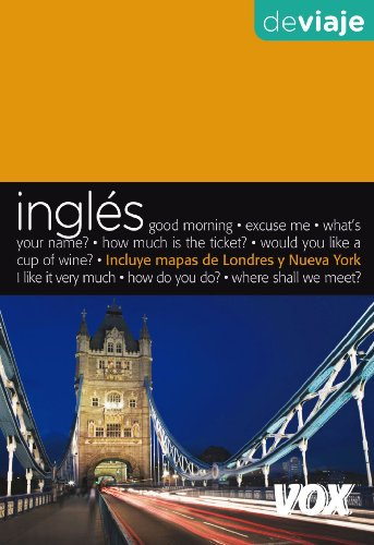 9788471538598: Ingles de viaje / English to Travel (Guias Vox / Vox Guides) (Spanish and English Edition)