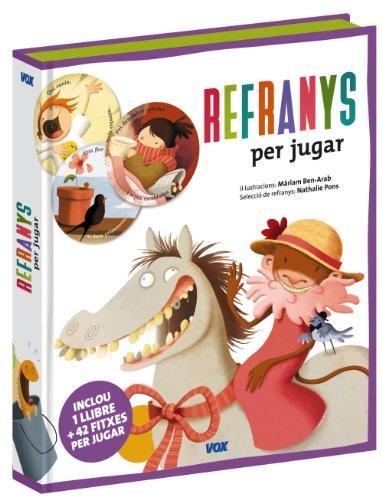 9788471538857: Refranys per jugar (Vox - Infantil / Juvenil - Català - A Partir De 3 Anys - Col·Lecció Llibres Per Jugar)