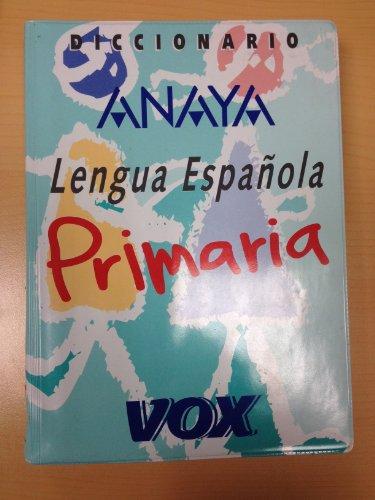 9788471539540: Diccionario de primaria de la lengua española Anaya - vox