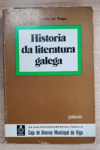 9788471542298: Manual de Historia da Literatura Galega
