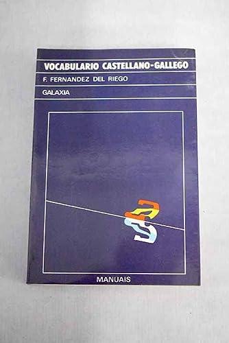 Vocabulario castellano-gallego (Manuais): Francisco Fernandez del