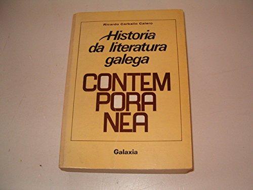9788471543905: Historia da literatura galega contemporánea, 1808-1936